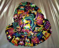 EXTREMELY COLORFUL CAT PATTERN HAT