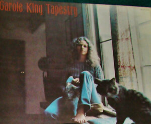 LPs 2x CAROLE KING'S 1971 2 #1 HIT ALBUMS - 'MUSIC' & 'TAPESTRY'
