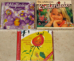 Qty 4 x German Children's Music CD's