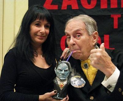 ZACHERLEY TIKI MUG & COASTER SET - LIMITED EDITION 2011 - HORROR TV HOST