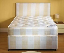 **14-DAY MONEY BACK GUARANTEE!** Double Deep Quilt Bed and Mattress - SAME DAY DELIVERY!