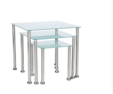 3 Piece Table Frosted Nest Back to Lamp Coffee Tables Sydney City Inner Sydney Preview