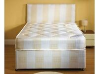 **7-DAY MONEY BACK GUARANTEE!** Double/Small Double Bed with 10inch Original DQ Mattress-RRP£179!!