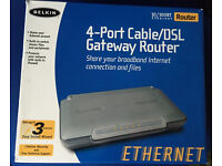 Belkin Router F5D5231-4 10/100 Wired Router (F5D5231uk4)
