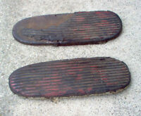 INDIAN MOTORCYCLE FOOTBOARDS FOR CHIEF AND FOUR CYL  1940s 50s