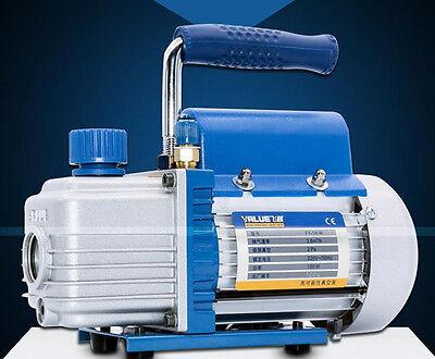 220v Rotary Vane Air Vacuum Pump Tool For Film Laminating Machine Free Shipping