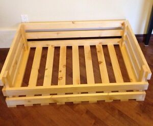 Handmade Crate Dogbed
