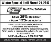 Gem Electrical Solutions Kamssack and area
