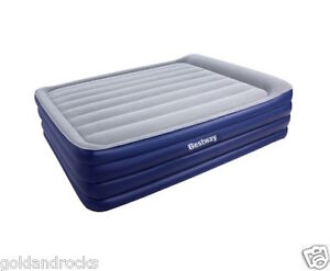 Bestway Queen Inflatable AIR Mattress BED Built IN