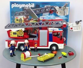 PLAYMOBIL FIRE ENGINE PLAYSETS X 6 XMAS GIFT TOYS