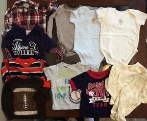 6-9 & 6-12 month baby boy clothes