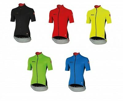 Castelli Perfetto Light Short Sleeve Jersey Windstopper® Fahrradtrikot - 4516045 Windstopper Short Sleeve