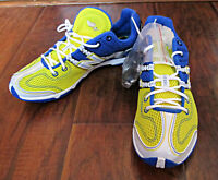 Mens New Balance Spiked Shoe – RX506CB – Blue/Yellow/White -7.5D