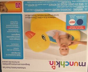 Munchkin inflatable ducky tub$10 obo