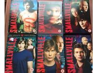 Smallville Seasons 1-6 DVD Boxset