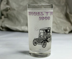 """Model T Ford 1909 & 1910"" Bar Drinking glasses Vintage Kingston Kingston Area image 3"