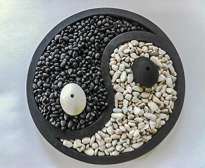 Курильница YIN/YANG Zen Garden/River Pebble Good