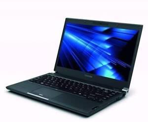 Toshiba Portege R830 Laptop Intel i5-2450M 4GB RAM 500GB HDD Adelaide CBD Adelaide City Preview