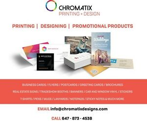 PRINT BUSINESS CARDS, FLYERS, SIGNS, BROCHURES, TSHIRTS