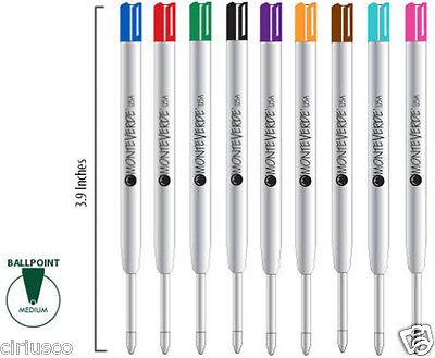 Best Buy 9 PACK Multi Color Parker Style Monteverde Ballpoint Pen