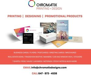 PRINT BUSINESS CARDS, FLYERS, POSTCARDS, BROCHURES, SIGNS