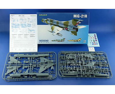 EDUARD 84123 MiG-21R Supersonic Fighter in 1:48