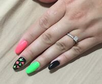 Gel nails $40 full set. Openings available today!