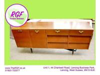 SALE NOW ON!! - Low Sideboard With Cupboards & Drawers- Can Deliver For £19
