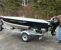 Lund 14 foot with 20 hp Merc