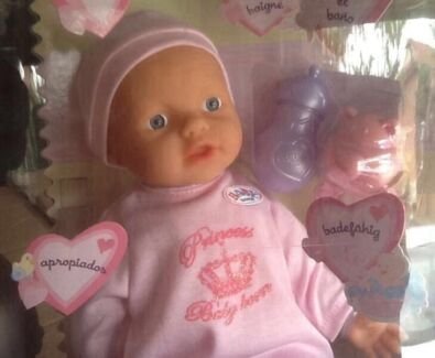My Little Baby Born Princess Pink Romper Suit NEW