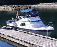 28ft Crown Sedan / Flybridge Cruiser