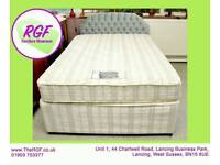 SALE NOW ON!! - 4ft 6 Double Divan Bed - Great Project - Can Deliver For £19