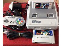 Snes Super Nintendo + 2 games
