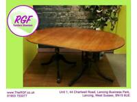 SALE NOW ON!! - Oval Extendable Dining Table - Can Deliver For £19