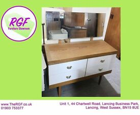 SALE NOW ON!! Dressing Table with Mirror & Drawers - Can Deliver For £19