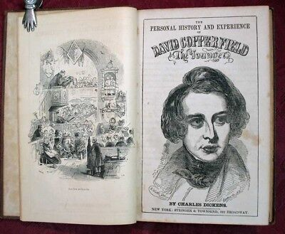 Charles Dickens / PERSONAL HISTORY And EXPERIENCE Of DAVID COPPERFIELD 1st ed - David Charles Clothing