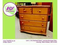 SALE NOW ON!! - Pine Chest Of Drawers - Can Deliver For £19