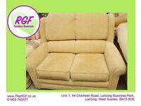 Sale Now On!! Supportive Cream Sofa - Can Deliver For £19