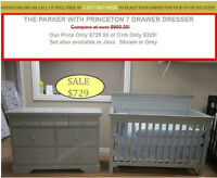 NURSERY SETS, GLIDERS, RECLINERS, CONVERTIBLE BABY CRIBS. SAVE!