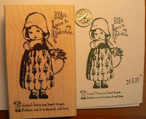 Little-Valentine-Girl-WM-Rubber-stamp-3-2x2-Vintage