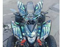2013 QUADZILLA 500 XLC ROAD LEGAL QUAD BIKE MAPPED BIG SPEC YAMAHA RAPTOR SUZUKI POLARIS KTM BANSHEE