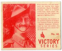 Carte Victory #66 / 2e guère mondial / militaire / military  WW2