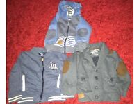 3 boys hoodies/jackets