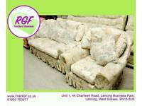 SALE NOW ON!! - 3 Seater Sofa & Armchair - Can Deliver For £19