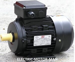 Electric Motor, Single Phase, 1.5Kw, 2HP, 4 pole - 1400 rpm.