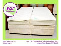 "SALE NOW ON!! - 5ft King Size Bed OR 2 x 2ft 6"" Single Beds - Can Deliver For £19"
