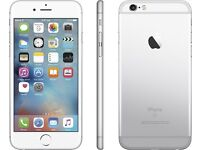 Iphone 6s 64GB unlocked silver and white 2 week old