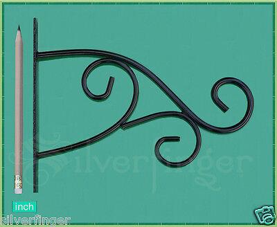 PLANT HANGER BRACKET • STEEL PLANT HOOK • Hanging Garden Planters Flower Baskets
