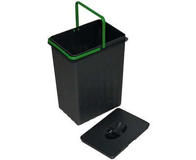 Einbau-Abfallsammler 7,5 Liter, anthrazitgrau