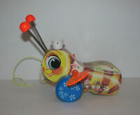 Vintage Fisher Price Pull Toys $15 ea Queen Bee Toot Toot Train